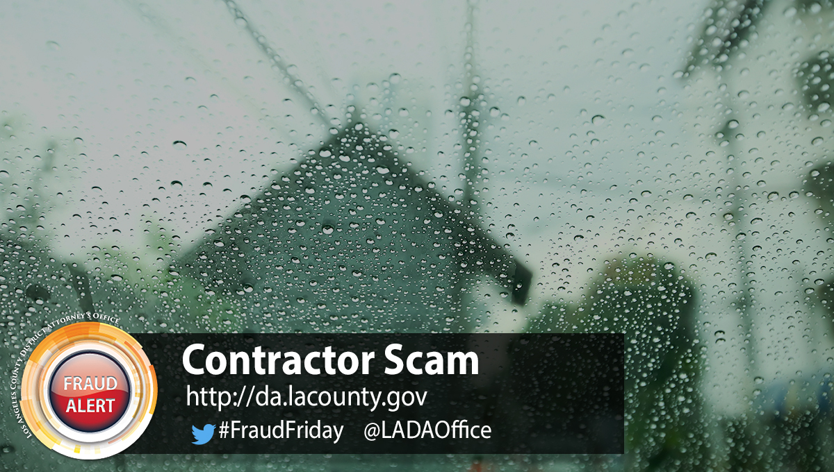 Graphic for Contractor Scam